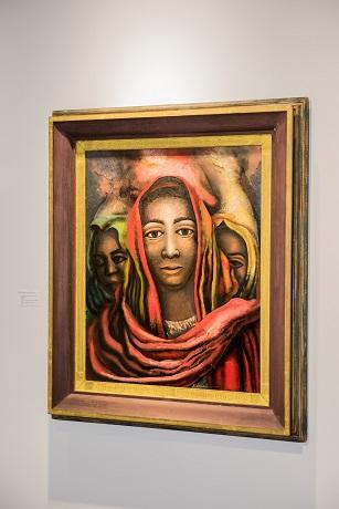 La Patrona - by David Alfaro Siqueiros 1897-1974